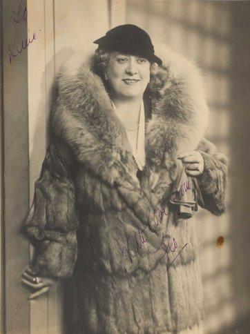 Florrie Forde, c.1930 by an unknown artist