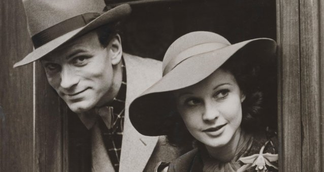 Laurence Olivier and Vivien Leigh (detail)