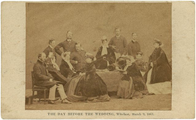 The day before the wedding, 1863 by John Jabez Edwin Mayll