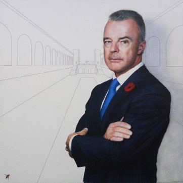 Portrait of Brendan Nelson, 2019 Todd Simpson