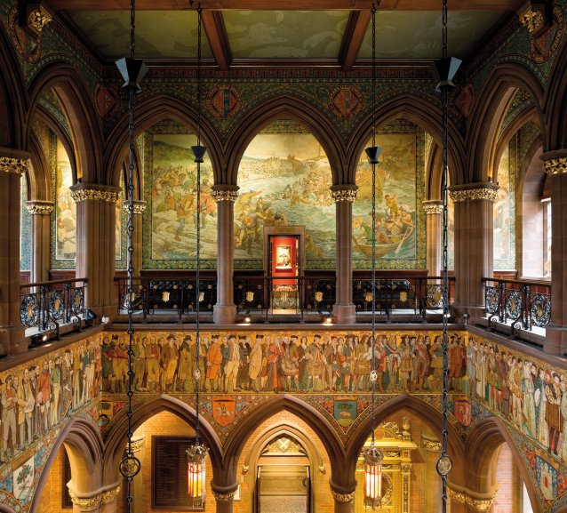 View of the Great Hall at the Scottish National Portrait Gallery © National Galleries of Scotland