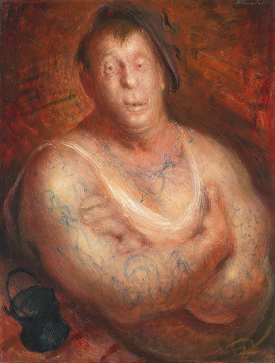The Billy Boy, 1943 by William Dobell