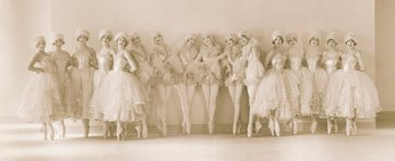 Albertina Rasch Dancers, by Florence Vandamm, 1927 publ. April 1927.