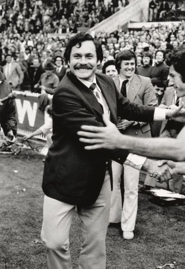 Ron Barassi, 1975 by Rennie Ellis