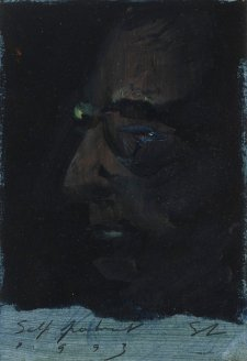 Self portrait, 1993 Tim Storrier