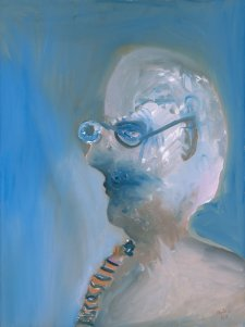 Self portrait, 1988 Sidney Nolan