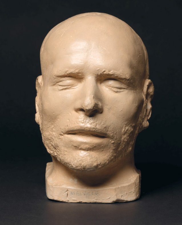 Death mask of George Melville
