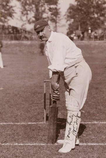 George Trott (George Henry Stevens (Harry) Trott, member of the 1896 Australian Cricket Team) H Parker Rolfe
