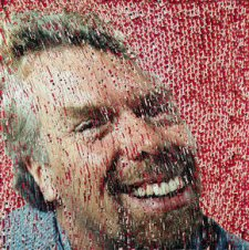 Sir Richard Branson, 1999 by David Mach (b. 1956)