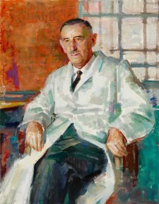 Dr J.R. Vickery, O.B.E., 1967 William Pidgeon