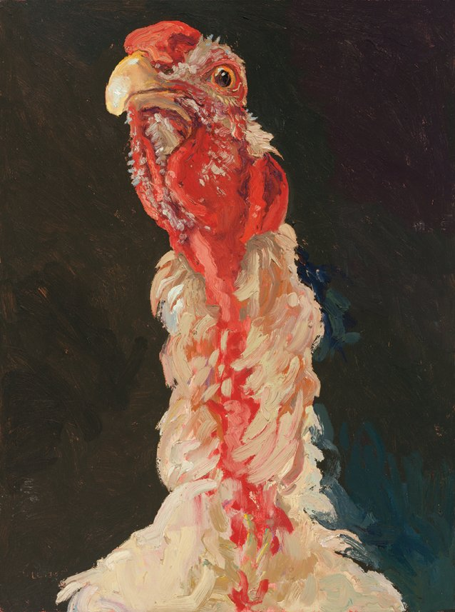 Easter Show cock 1, 2002 by Lucy Culliton