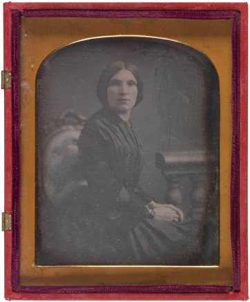 Martha Knox, c. 1855 by an unknown artist
