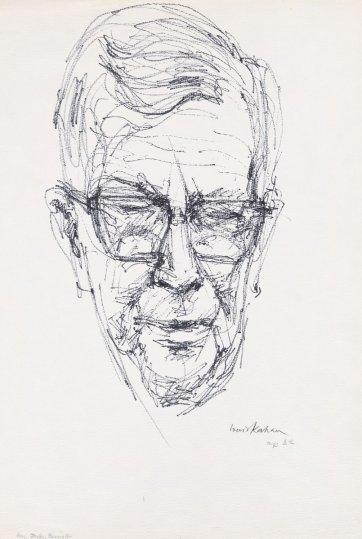 Sir Macfarlane Burnet, late 1960s by Louis Kahan