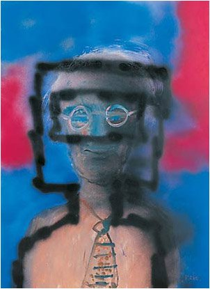 Myself, 1988 by Sidney Nolan