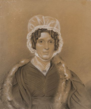 Jessie Whyte, c.1840 by Thomas Bock