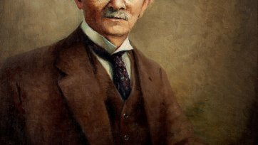Portrait of Dr John Bradfield, c. 1920-24 by Jerrold Nathan