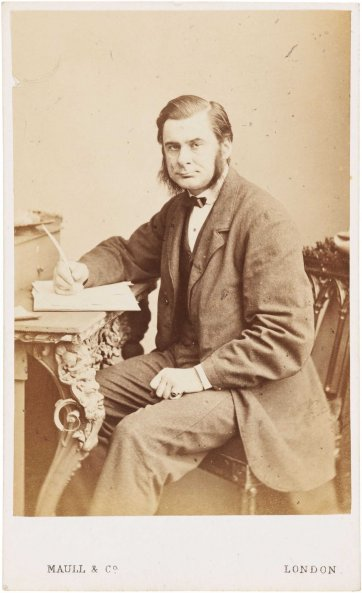 Thomas Henry Huxley, c. 1870 Maull & Co Photographers