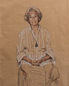 Study for Aunty Mary King, 2010 by Mathew Lynn