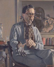 Self portrait with glove, 1939 Herbert Badham