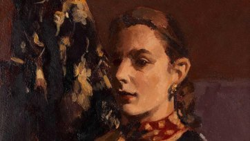 Self portrait, c. 1952 Janet Dawson