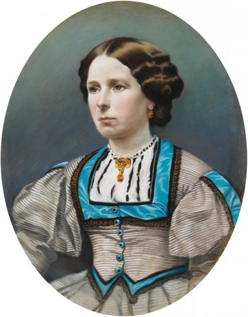 Elizabeth Walford, c.1873 by an unknown artist