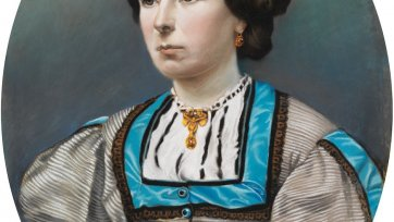 Elizabeth Walford, c. 1873 an unknown artist