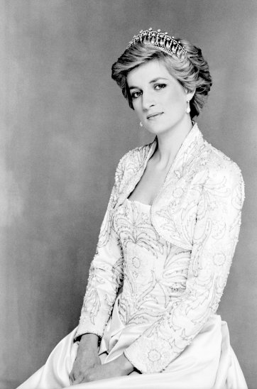 Official portrait of Diana, Princess of Wales, 26 February 1990