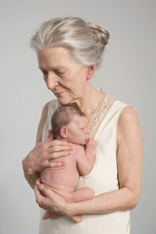 Woman and child, 2010 by Sam Jinks