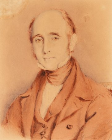 Portrait of Henry Hopkins, c. 1845 Thomas Griffiths Wainewright