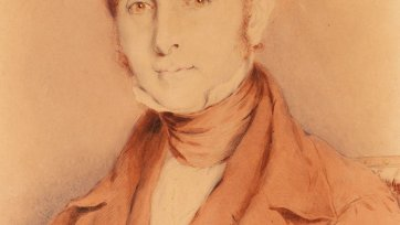 Portrait of Henry Hopkins, c 1845 by Thomas Griffiths Wainewright