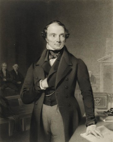 Lord John Russell, 1844 by Samuel Bellin after Thomas Heathfield Carrick