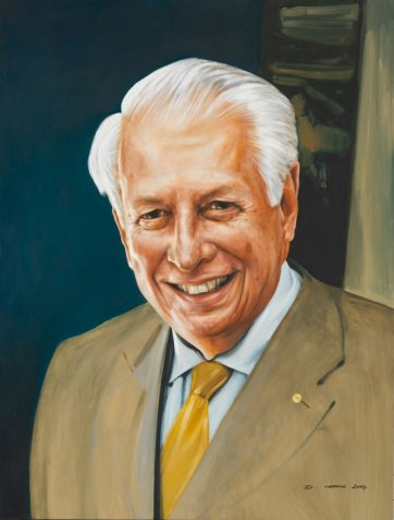 Sir Gustav Nossal, 2004 by Dean Home
