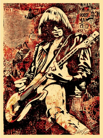 Johnny Ramone (Red)