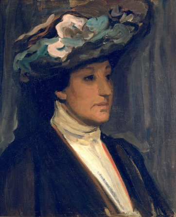 Portrait sketch of Nellie Melba, 1902 by Hugh Ramsay