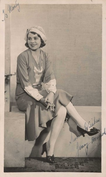 Jenny Howard, c.1930's an unknown artist