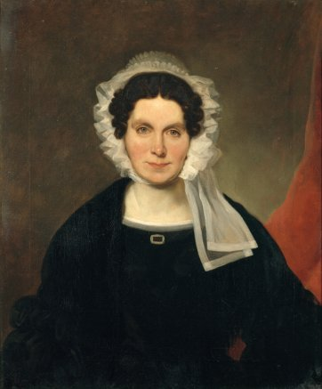 Mary Ann Lawrence as a widow, 1841