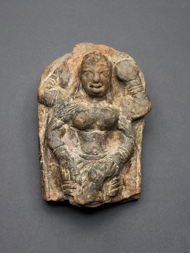 Goddess Durga Slaying the Buffalo Demon (Mahishasuramardini), c. 101 AD – 200 AD