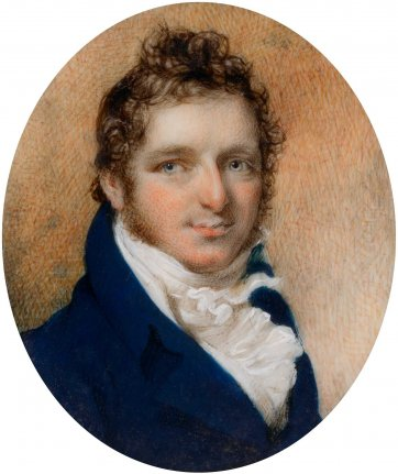 Gamaliel Butler, c.1810 by an unknown artist