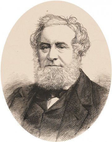William Howitt, n.d. by an unknown artist