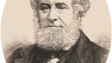 William Howitt, n.d. an unknown artist