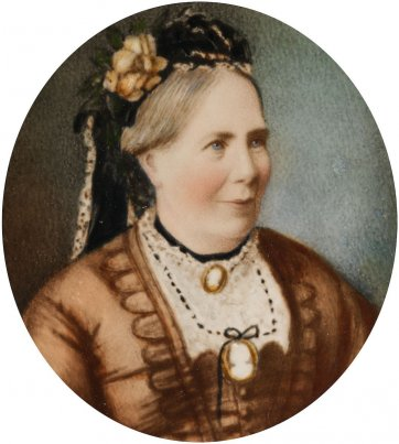 Jane Kennerley (née Rouse), c.1850 by an unknown artist