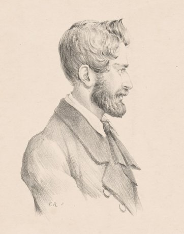 Dr. Ludwig Leichhardt, 1846 by Charles Rodius