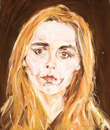 The artist's wife, c.1970
