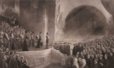Opening of the first Parliament of the Australian Commonwealth, 9th May 1901, 1903 by Tom Roberts, Goupil & Cie