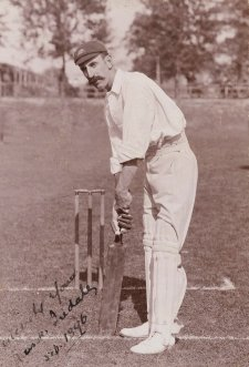 Frank Iredale (Francis Adams Iredale, member of the 1896 Australian Cricket Team) by H Parker Rolfe