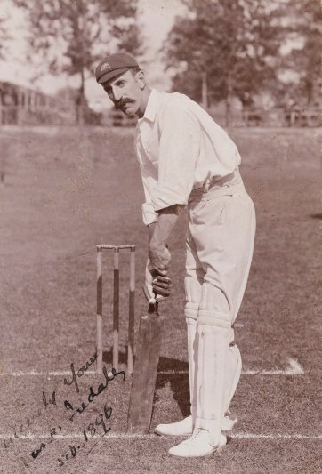 Frank Iredale (Francis Adams Iredale, member of the 1896 Australian Cricket Team) H Parker Rolfe