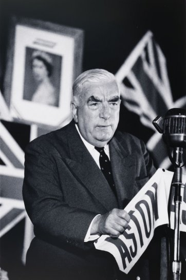 Robert Menzies, Sydney, 1963 (printed 2000) by David Moore