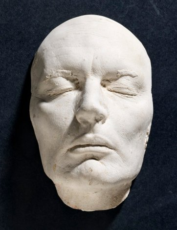 Life mask of John Bell, c.1980 by an unknown artist