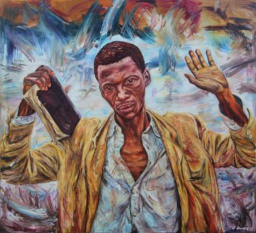 The Preacher 1995 by George Gittoes