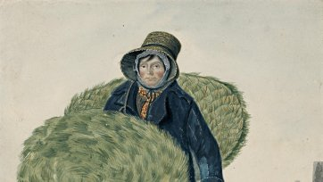 Mary (or Diana) Croker, mat woman, Colchester, 1823 by John Dempsey